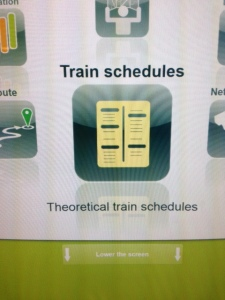 """Theoretical"" Train Schedules"